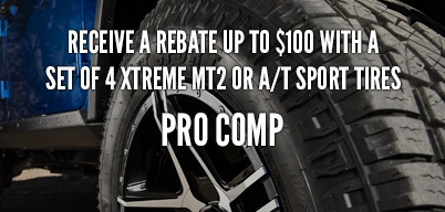 Pro Comp Tires Up to $150 Mail-In Rebate