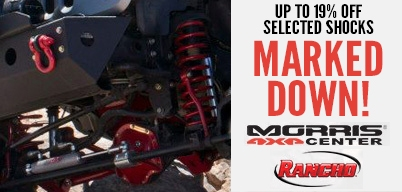 Rancho Shocks Marked Down
