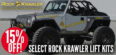 Rock Krawler Sale - Up To 15% Off Select Lift kits