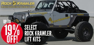 Rock Krawler Lift Kits Up to 19% Off
