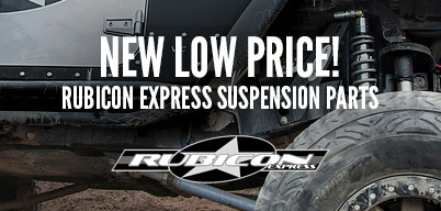 Rubicon Express Coilover Upgrade Kit Special Pricing