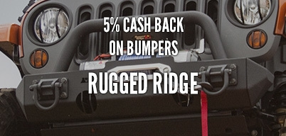 Rugged Ridge Bumpers 5% Year Long Rebate