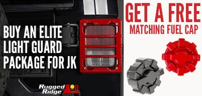 Rugged Ridge Elite Lighting Guard Package Get Free Fuel Cap