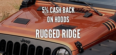 Rugged Ridge Hoods 5% Year Long Rebate