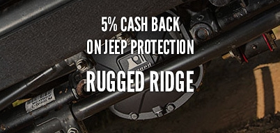 Rugged Ridge Jeep Protection 5% Year Long Rebate