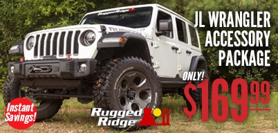Rugged Ridge JL Accessory Package Only $169.99