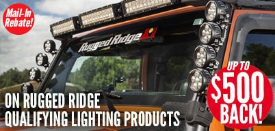 Rugged Ridge Lighting Up to $500 Mail-In Rebate