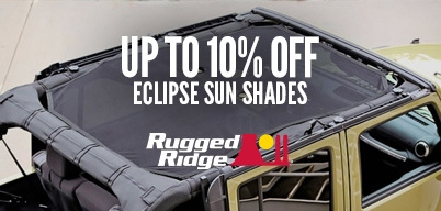 Rugged Ridge Eclipse Sun Shades Up to 10% Off