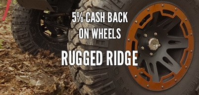Rugged Ridge Wheels 5% Year Long Rebate