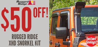 Rugged Ridge XHD Snorkel Kit $50 Off