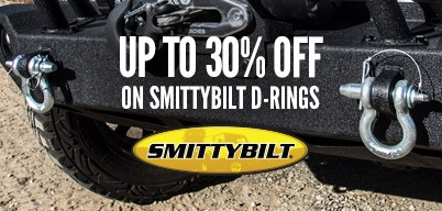 Smittybilt Bumpers D-Rings Up to 30% Off