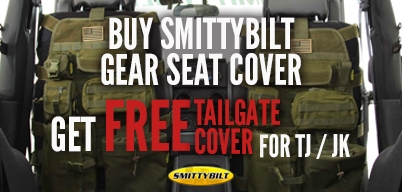 Smittybilt G.E.A.R Seat Cover Special