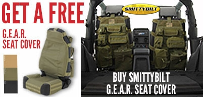 Buy One Smittybilt G.E.A.R. Seat Cover Get One Free