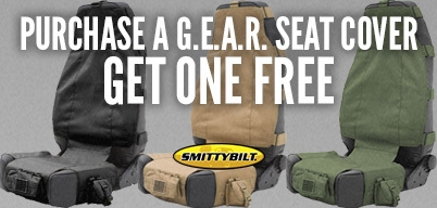 Smittybilt Purchase a G.E.A.R Seat Cover Get One Free