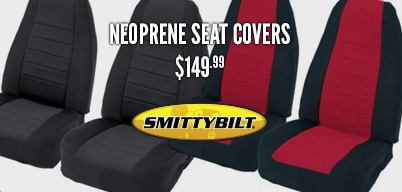 Smittybilt Neoprene Seat Covers for $149.99