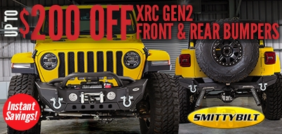 Smittybilt - Save Up To $200 on Select JK Bumpers!