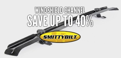 Smittybilt Windshield Channel - Save up To 40%