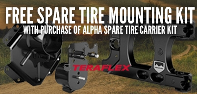 Teraflex Free Tire Mounting Kit With Purchase of a Tire Carrier Kit