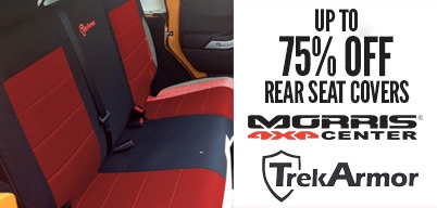 Trek Armor Rear Seat Covers Up to 75% Off