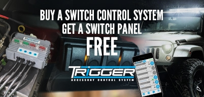 Trigger - Buy a Wireless Accessory Controller Get a Switch Panel FREE!