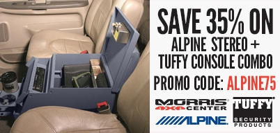 Save 35% on Alpine + Stereo Console Combo