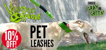 Voodoo Pet Leashes 10% Off