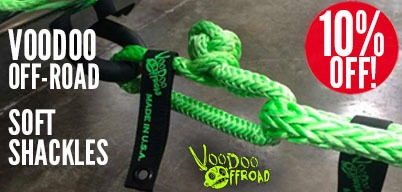 Voodoo Soft Shackles 10% Off