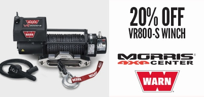 20% Off Warn VR8000-S Winch