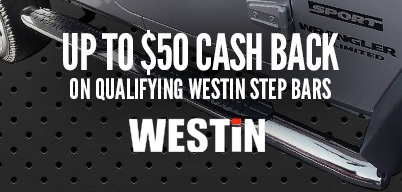 Westin Platinum Step Bars $50 Mail-In Rebate