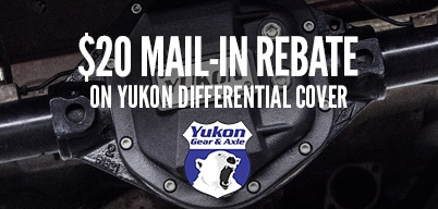 Yukon Differential Covers $20 Mail-In Rebate