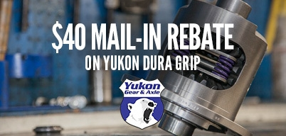 Yukon Dura Grips $40 Mail-In Rebate