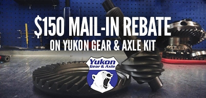 Yukon Gear & Install Kits $150 Mail-In Rebate