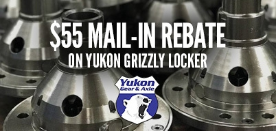 Yukon Grizzly Lockers $55 Mail-In Rebate