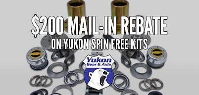 Yukon Zip Spin Free Kits $200 Mail-In Rebate