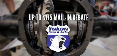 Yukon Spring Rebate Up to $175 Mail-In Rebate