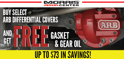 ARB Differential Covers Get Free Gear Oil & Gasket