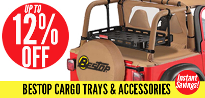 Bestop Cargo Trays & Accessories Up to 12% Off