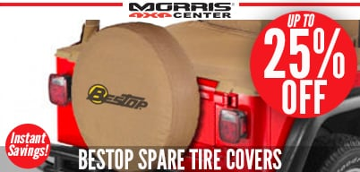Up to 25% Off Bestop Spare Tire Covers