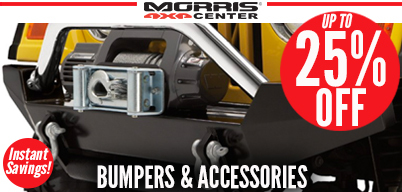 Up to 25% Off Bumpers & Accessories