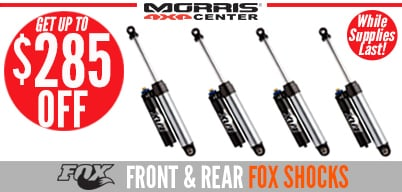 Morris Exclusive - 4-Pack Shock Special, Save up to $285!
