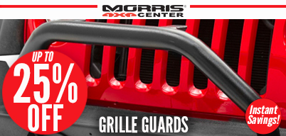 Up to 25% Off Grille Accessories