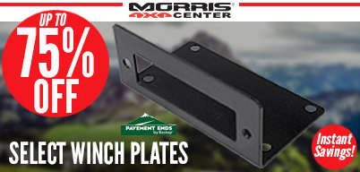 Up to 75% Off Pavement Ends Winch Plates