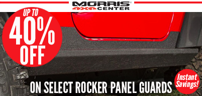 Up to 40% Off Rocker Panel Guards