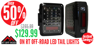 RT Off-Road LED Tail Light Set New Low Pricing