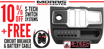 S-tech - 10% Off + Circuit Breaker and Wire