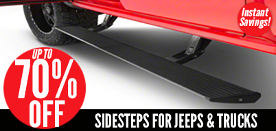 Up to 70% Off Side Steps