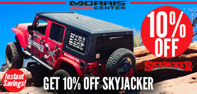 10% Off Select Skyjacker Products