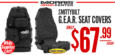Smittybilt G.E.A.R Seat Covers Only $69.99