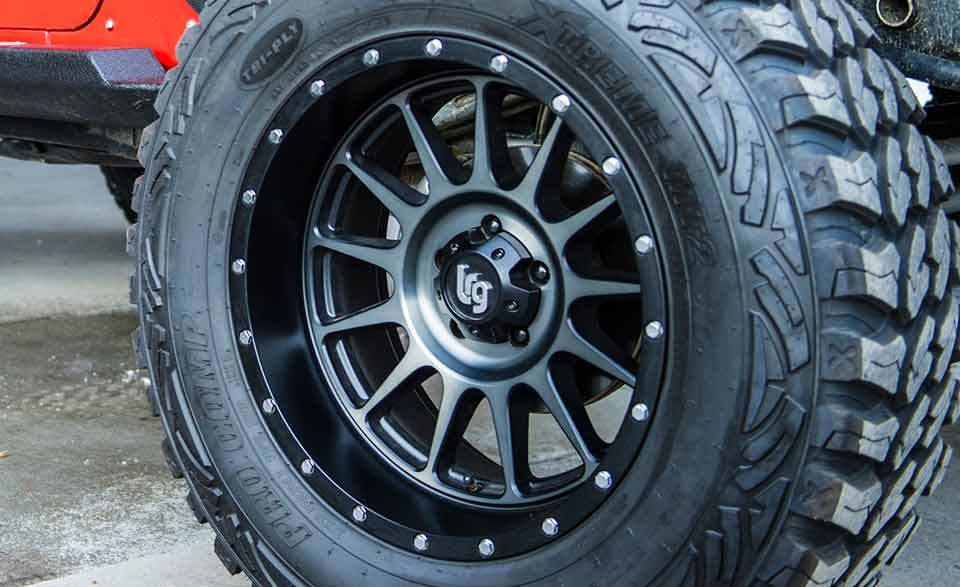Jeep Wheel Specifications | Jeep Wheels | Morris 4x4 Center