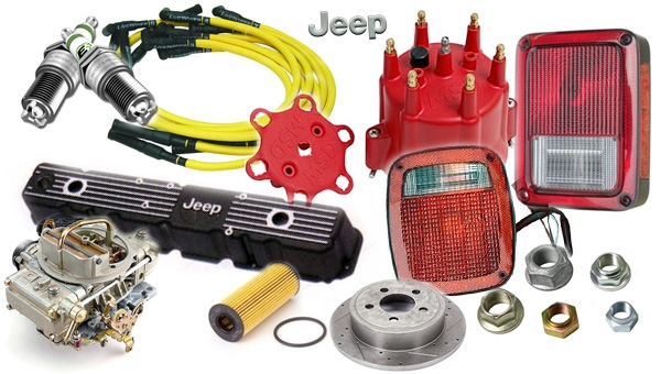 jeep replacement and hard parts